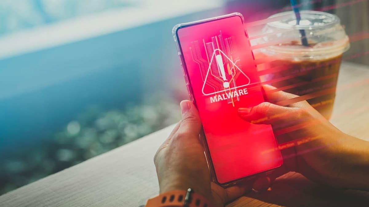 Android malware em smartphone