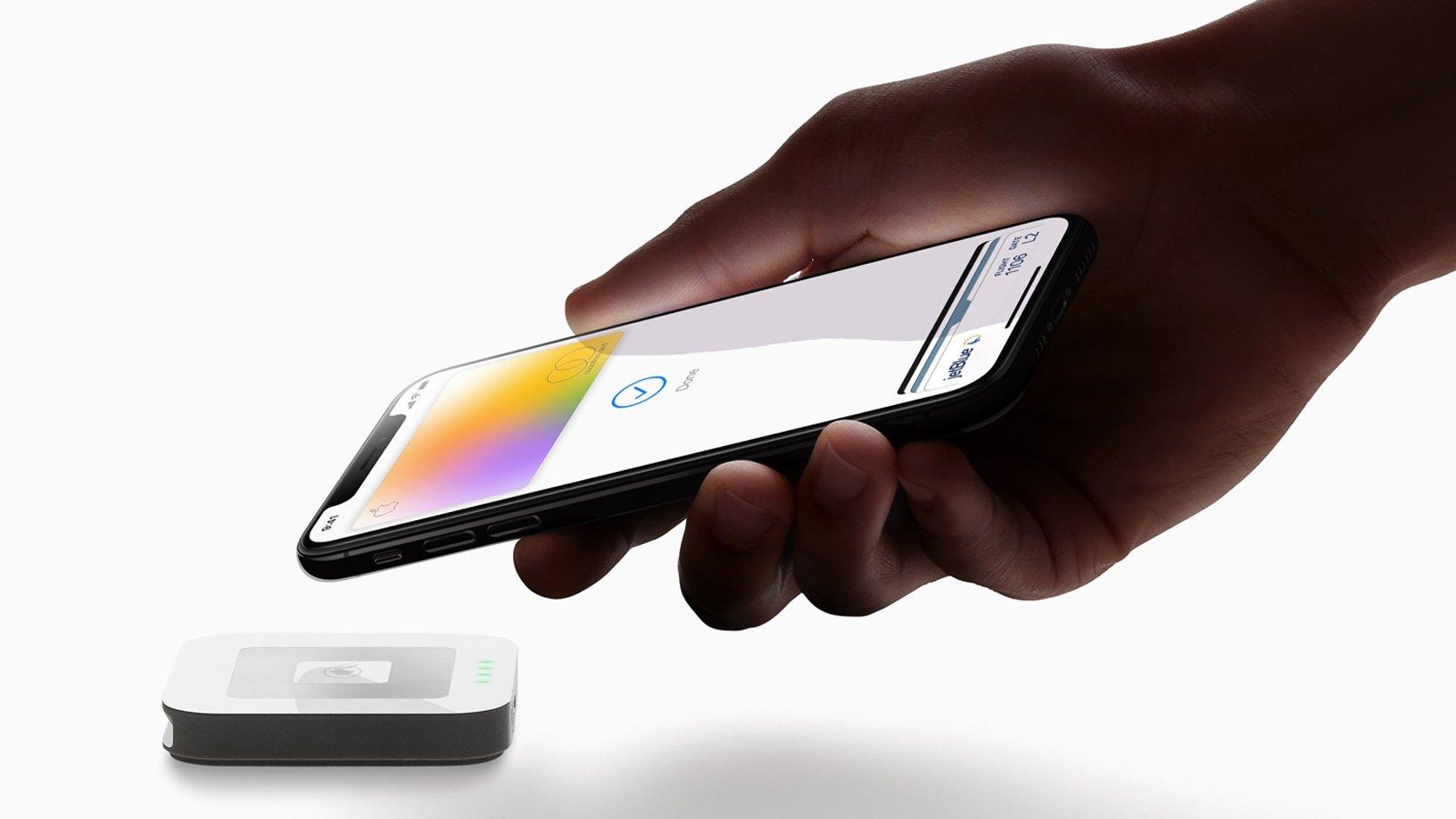 Apple Pay com iPhone