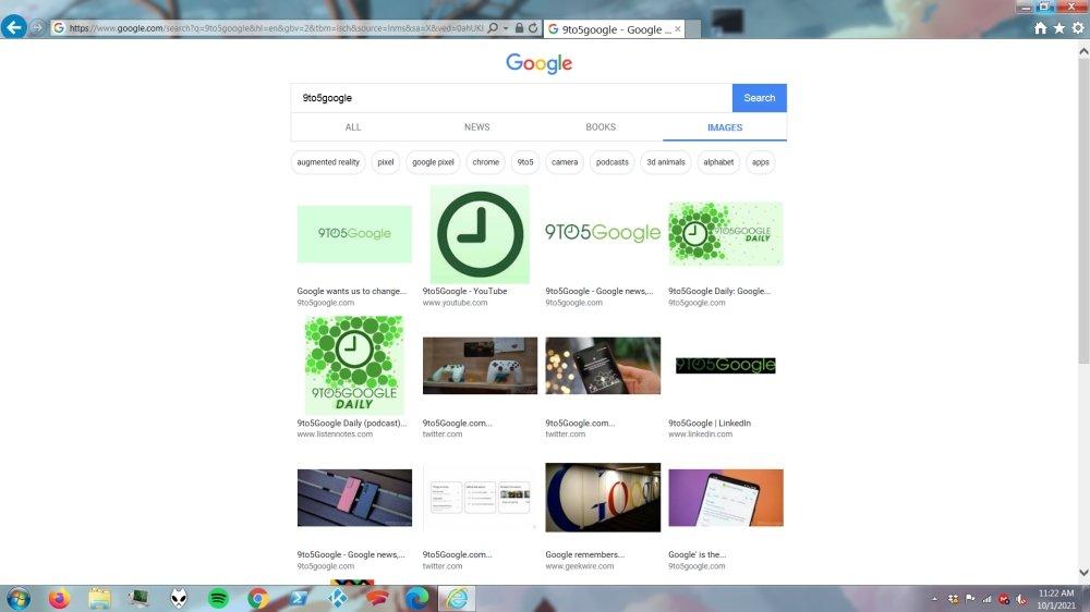 Einfache Google-Suche im IE