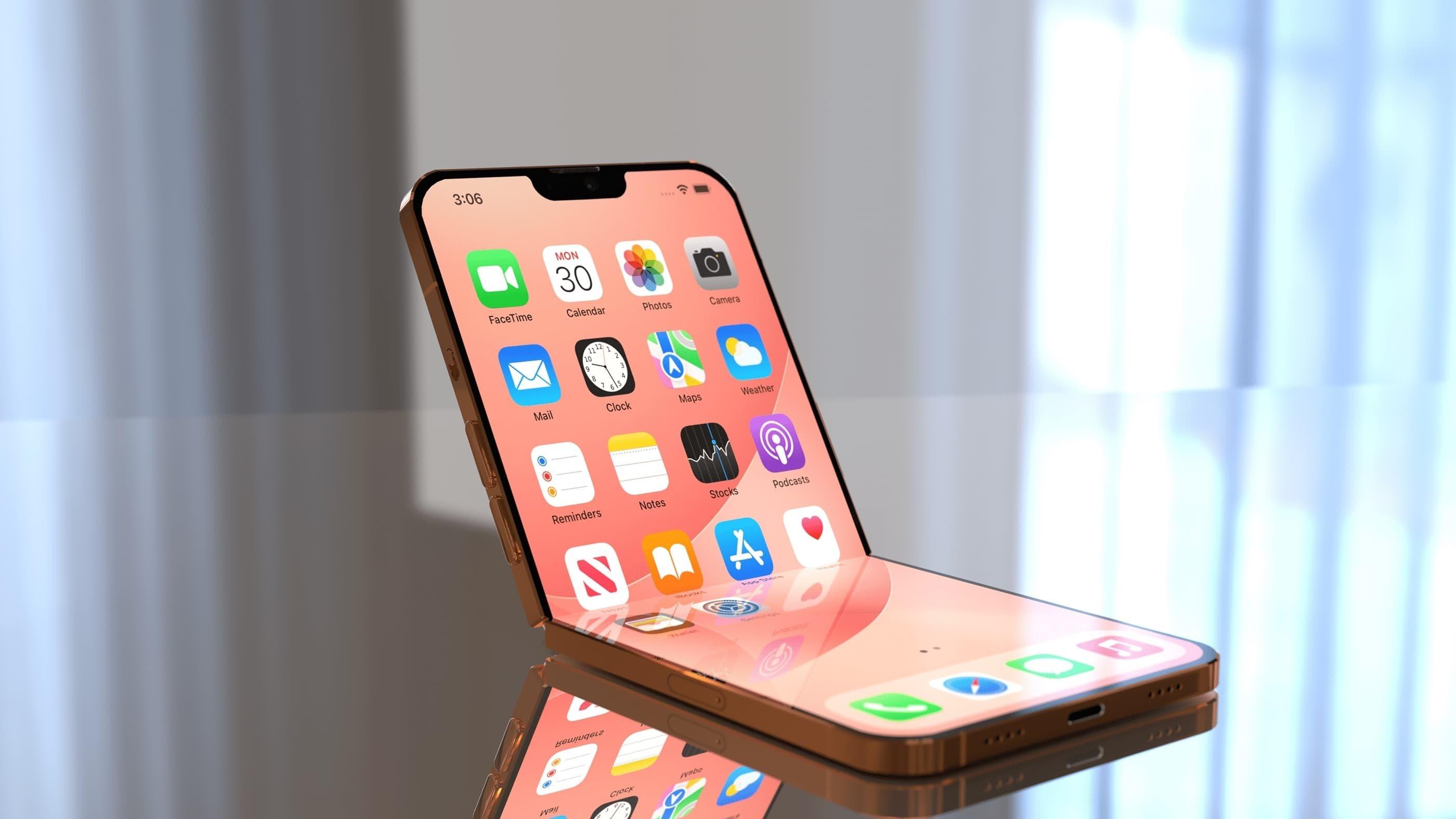 Apple iPhone dobrável