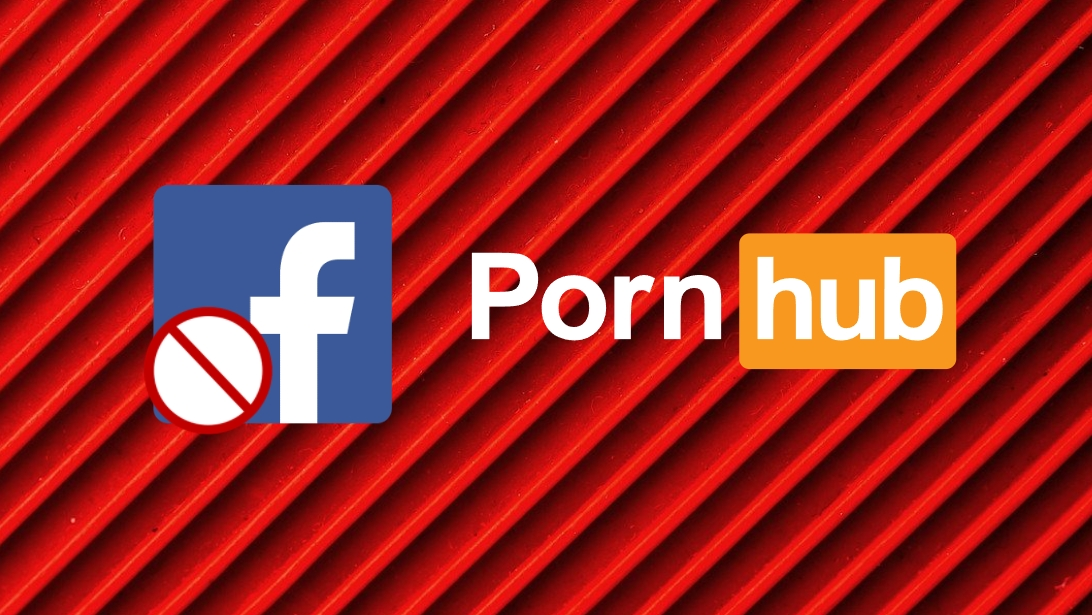 PornHub em falha do Facebook