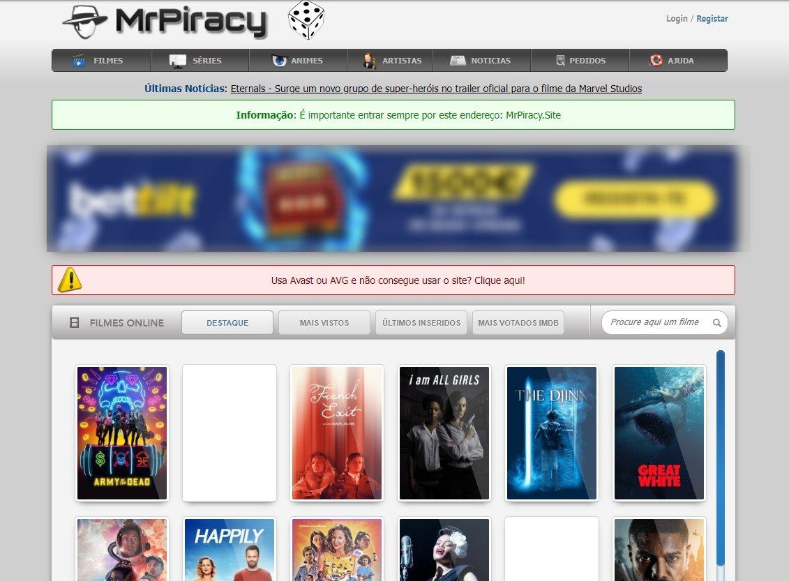 mrpiracy website
