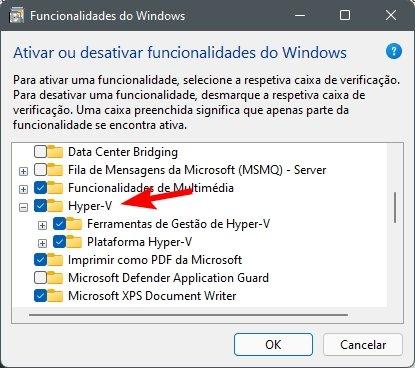 instalar hyperv no windows 11