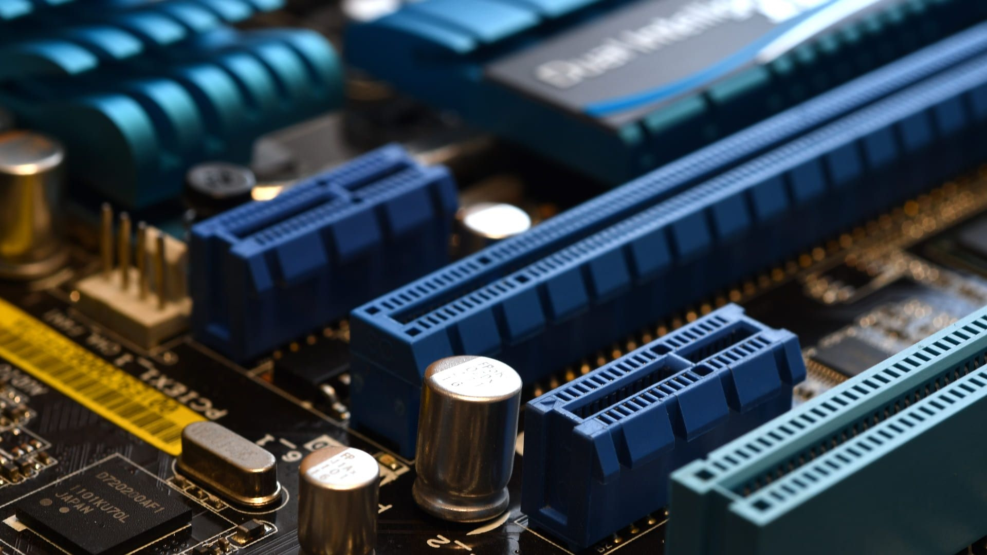 entrada PCIe em motherboard