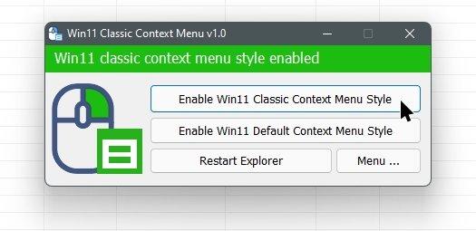 programa para menus clássicos do windows 11