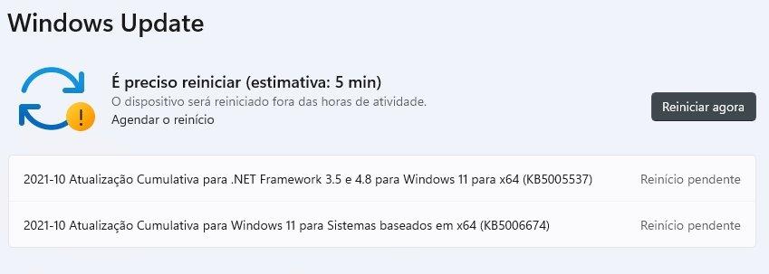 Windows update imagem