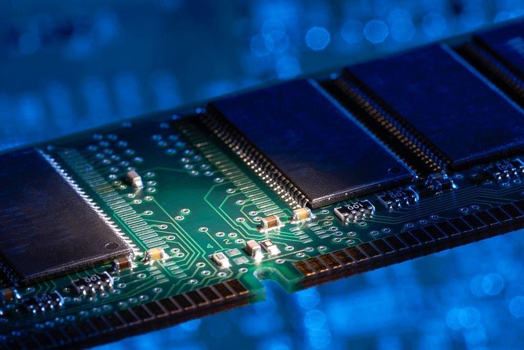 memória RAM em computador
