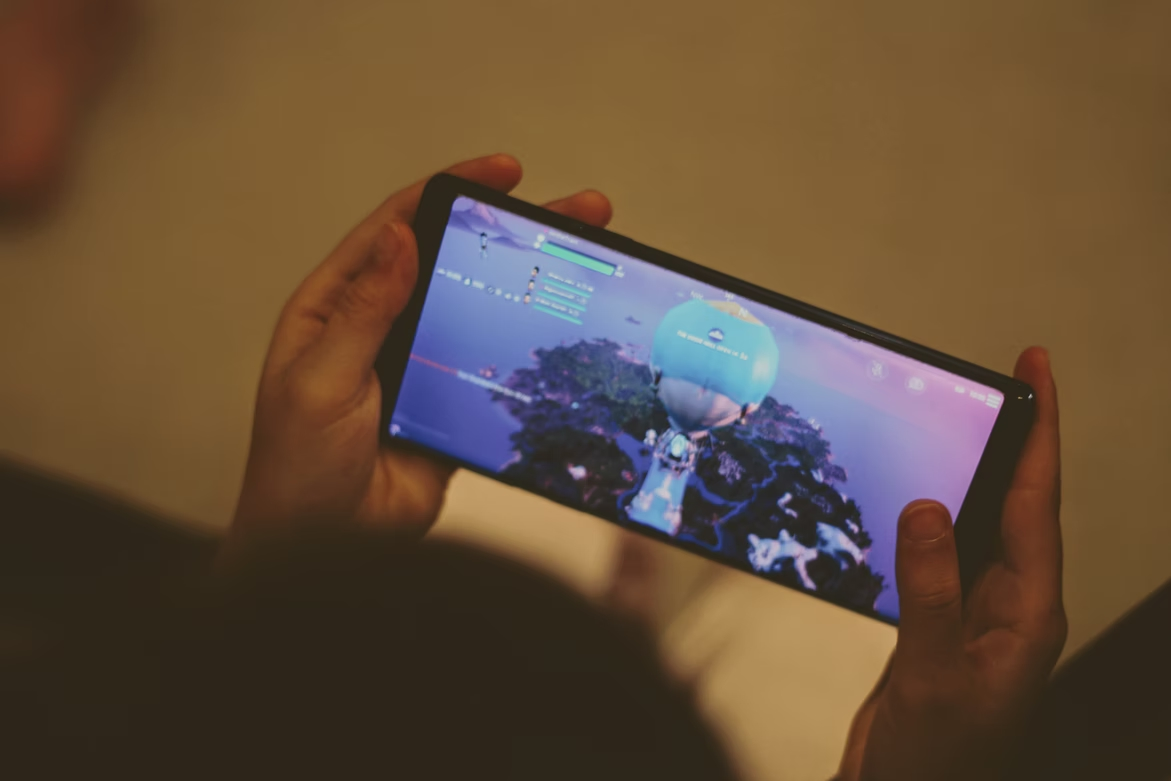 Fortnite em dispositivo Android