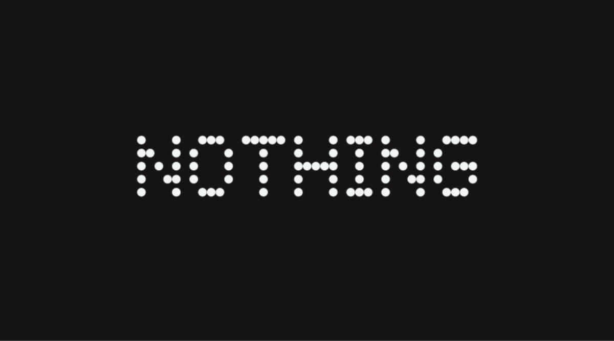 Nothing logo da empresa